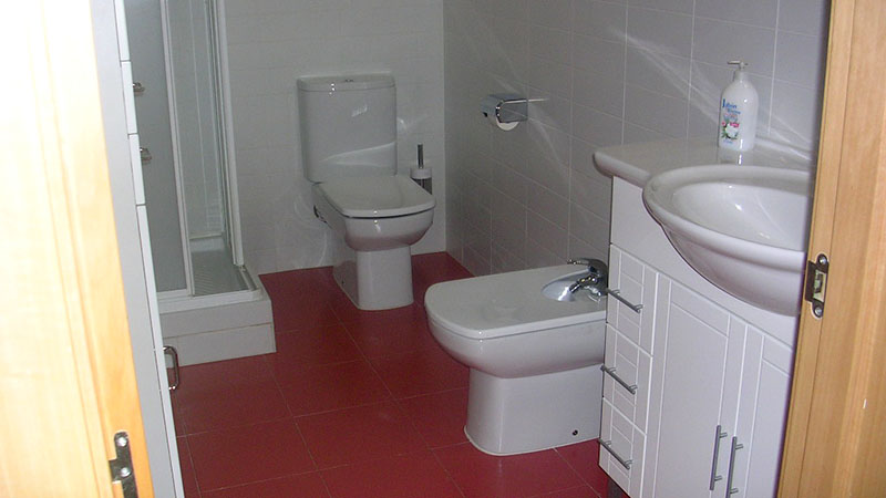 BATHROOMS. Fully equipped bathrooms for all apartments.