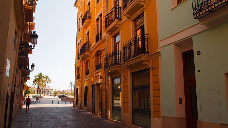STUDY CENTER. FSU Valencia's Study Center in the historical center of the city.