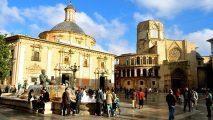 PLAZA DE LA VIRGEN. Valencia's most emblematic plaza.